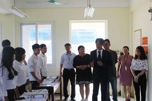 Trường Cao Đẳng Dược Hà Nội có buổi gặp gỡ đối tác Nhật Bản